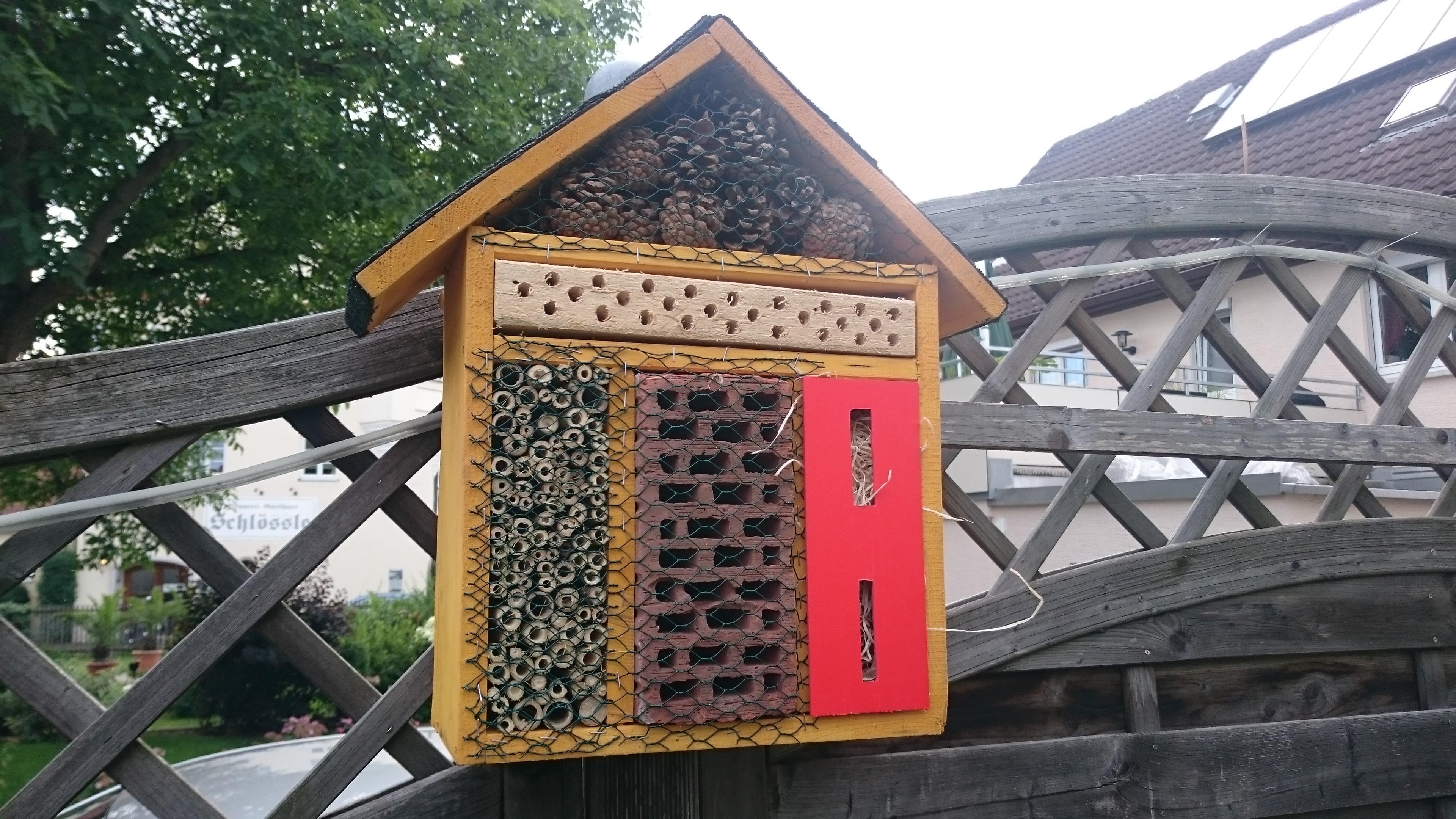 insektenhotel selber bauen swalif. Black Bedroom Furniture Sets. Home Design Ideas